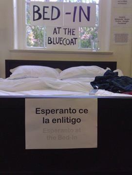 Bed-In at the Bluecoat